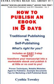 How To Pubish An Ebook In 5 Days by MysteryCrimeNovelist