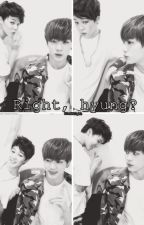 Right, hyung?. [JinMin] by donutd