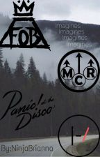 Fall out boy,MCR,Twenty one pilots,and panic! Band preferences and imagines by NinjaBrianna