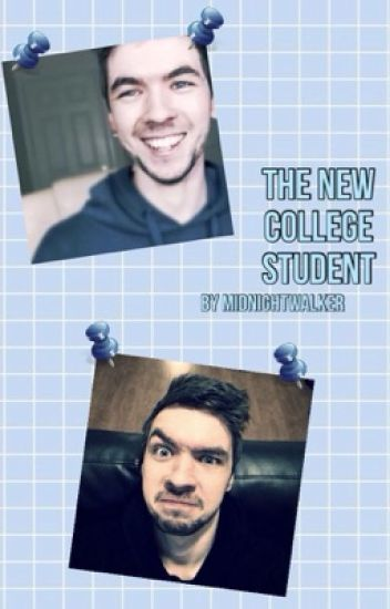 The New Collage Student (Jacksepticeye x Reader)