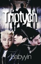 Triptych - BTS Rapper Line (Yoongi, Hoseok, Namjoon) by babyyin