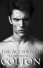 The accidental elbowing of Colton  by Tabdog