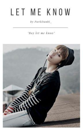 Let Me Know × Kim Taehyung by ParkDanbi_