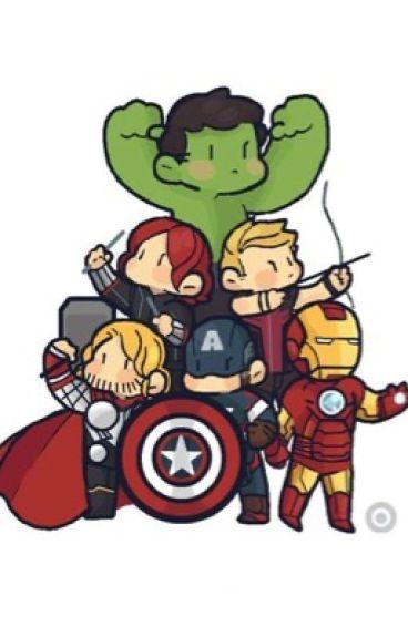 Teeny tiny (avengers x reader)