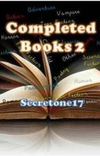 Completed Books 2 by secretone17