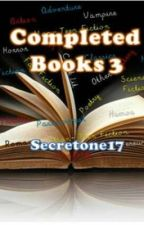 Completed Books 3 by secretone17