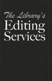 The Library's Editing Services by NewStoriesLibrary