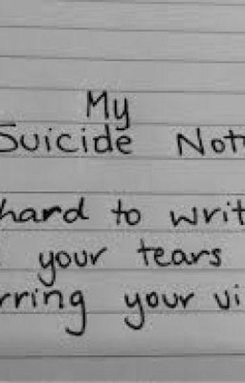my suicide letter - ayjay - wattpad