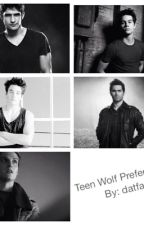Teen Wolf Preferences by datfangirltho