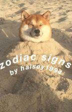 zodiac signs by halsey1994