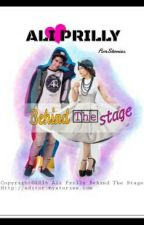 Ali Prilly Behind The Stage by fidamlda