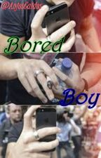 Bored Boy §Larry Stylinson§ Texting§ by AnjosCaidos