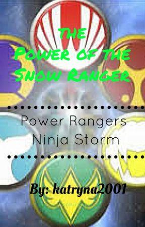 The Power Of The Snow Ranger Power Rangers Ninja Storm Editing