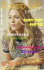 Gossip Girl: Il magazine- settembre by mariejane1