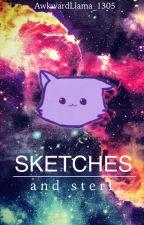 Sketches and Sterf [Wattys2015] by notsoawkwardllama