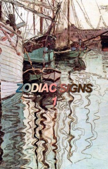 zodiac signs ; (ita)
