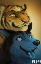 El Tigre y El Lobo (Furry Yaoi) by The-Wolf273