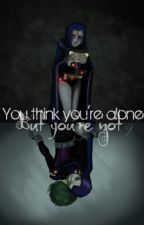 teen titans high - Raven's story  by Lunari_rae