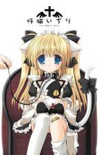 Sebastian's LITTLE SISTER!?and Ciel's NEW GIRL!?(black butler) by Ribbon_Nightmare