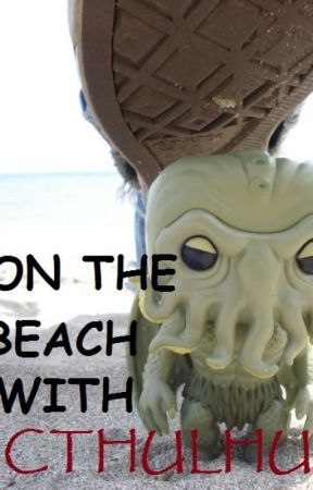 On The Beach With Cthulhu by MrMogo