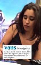 blue vans ∞ camren by laurenjgalaxy