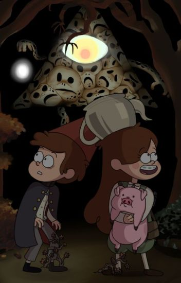 On My Way Home A Gravity Falls Over The Garden Wall Crossover
