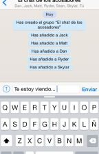 El chat de los acosadores(#PremiosWABooks) by loveisintheair0027