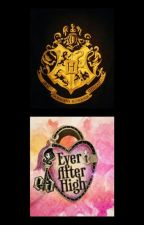 1 year, 2 sides, 4 houses ( harry potter/ ever after high ) by philosynphonie