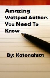 Amazing Wattpad Authors You Need To Know: 1D Stories by Katonah101