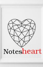 Notes heart by izzylool