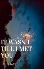 It Wasn't Till I Met You by SoIhaveAshippingProb