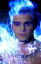 Blue Flames Bursting (Godric from True Blood) by Metal_Baby
