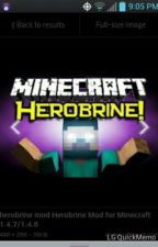 Minecraft HEROBRINE by marvelman237