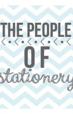 The People Of Stationery by Kray_Kray_KK