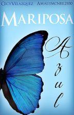 Mariposa Azul (He) by CecyVelazquez