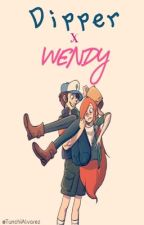 Dipper y Wendy (Gravity Falls) by AgustinAlvarez828