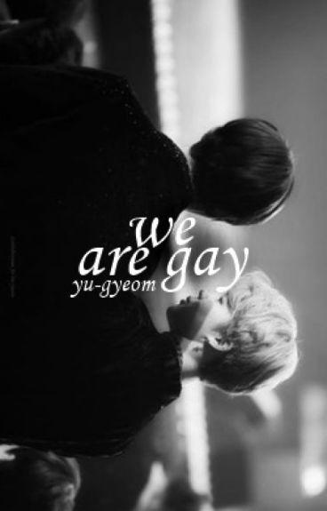 we are gay ━ v.min