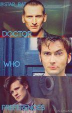 Doctor Who Preferences by btchjrk