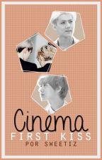 First Kiss: Cinema by sweetiz