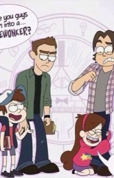 Sam and Dean meet mabel and dipper by justjillian