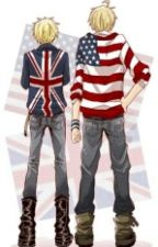 America x Male Reader x England by vocataku20