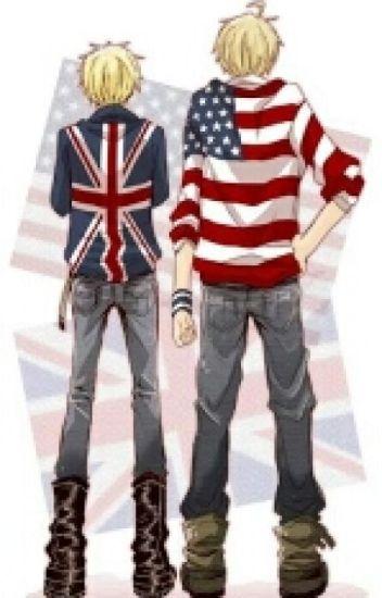 America x Male Reader x England