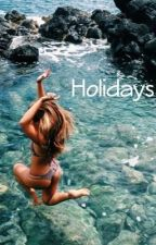 Holidays | M.E | by juju-wolfie