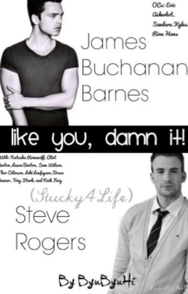 I Like You, Damn It! (Stucky, BuckyxSteve)