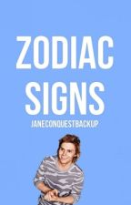 Zodiac Signs by JaneConquestBackup