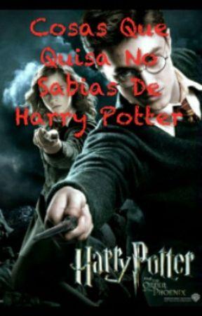 Sabias que? Harry Potter - Comida De Las Peliculas - Wattpad