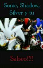 Soy suertuda de conocerlos(Sonic, Shadow, Silver y tu) by CamiLaRaritaXD