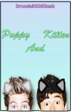 Puppy and Kitten // Cashton•Muke \\ by -Meowke