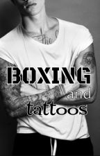 Boxing and tattoos by candelagarces
