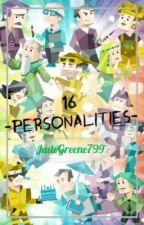 16 Personalities MBTI by JadeGreene799
